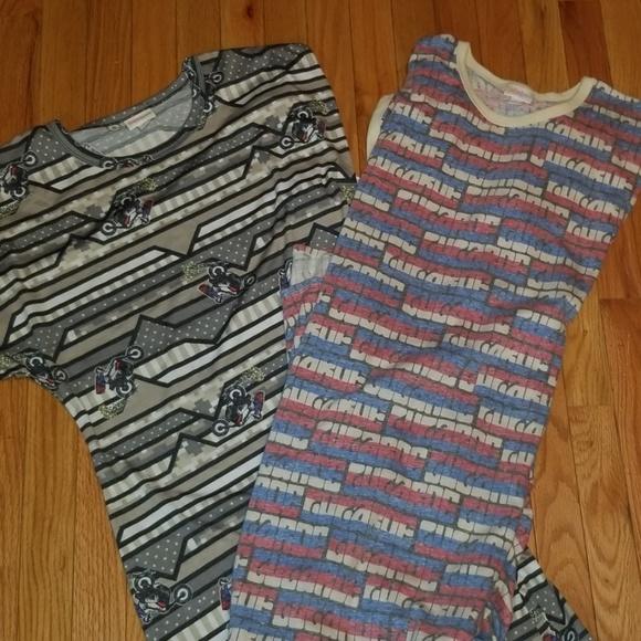 LuLaRoe Dresses & Skirts - LuLaRoe Maria Dresses Lot of 2 w/tags Large